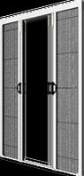 Plase de insecte tip plisse