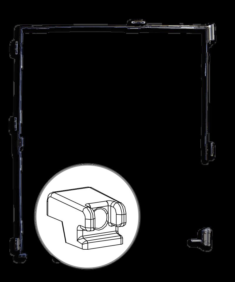 Ridicător de cercevea ferestre aluminiu